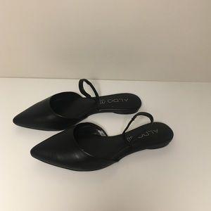 Aldo Genuine Leather Pointed Flats